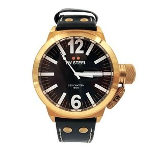 TW Steel Gold Plated CEO Men's Watch